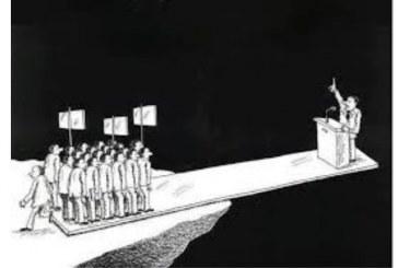 "DEMOKRATLARIN ""İZM""İ DEMOKRASİZMDİR"