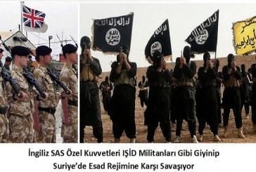 İngiliz SAS Özel Kuvvetleri IŞİD Militanları Gibi Giyinip Suriye'de Esad Rejimine Karşı Savaşıyor