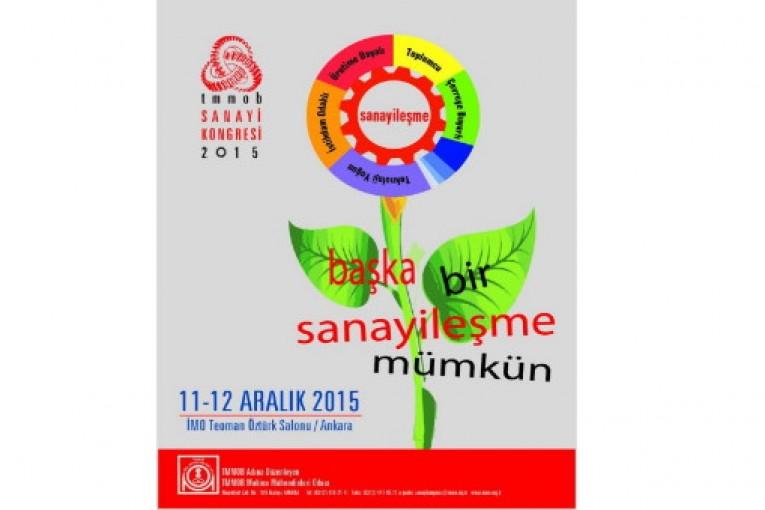 TMMOB Sanayi Kongresi Konuşma Notları -Ahmet Yıldırım