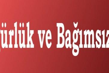 Özgürlük ve Bağımsızlık-Mehmet Uysal