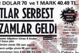 Yaşadığımız ekonomik krizler 24 Ocak kararlarının devamı ( )-Prof. Dr. Bilsay Kuruç