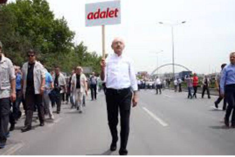 Adalet Yürüyüşü-Av. Mehdi Bektaş