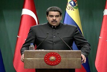 Venezuela Lideri Maduro'yu Selamlıyoruz…