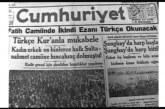Türkçe Ezan Konusu-Av. Mehdi Bektaş
