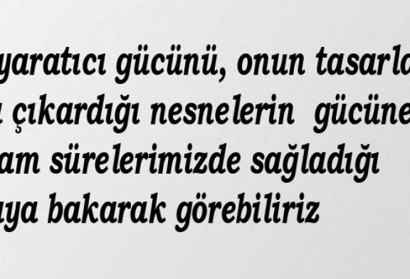 Bilgide Saklı Tükenmez Enerji ve Güç-Mehmet Uysal