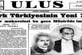 Montrö Antlaşması ve günümüzdeki önemi-Mehmet Ali Yılmaz